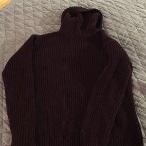 Abercrombie Maroon Sweater, M